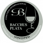 Silver Bacchus, vintage 2.012, Bacchus Awards 2.014, Spain