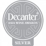 Medalla de Plata, 92 puntos, añada 2.014, Decanter Asia Wine Awards 2018