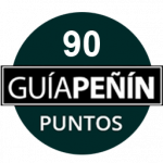 90 points, vintage 2014. Guía Peñín 2018, Spain